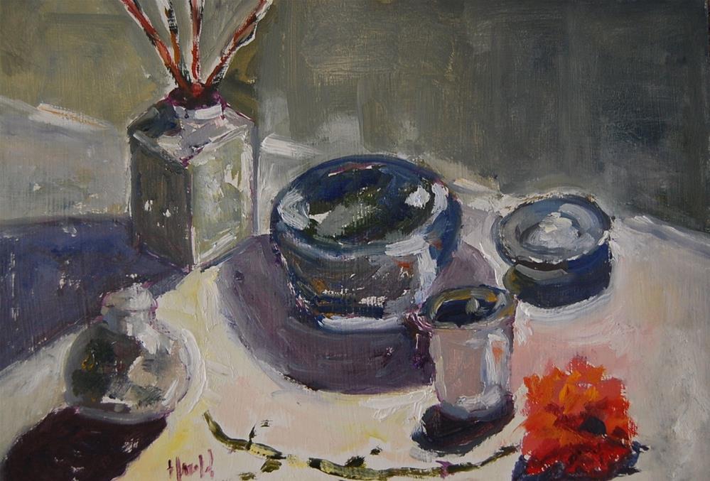 """""""Be Still"""" original fine art by Deborah Harold"""