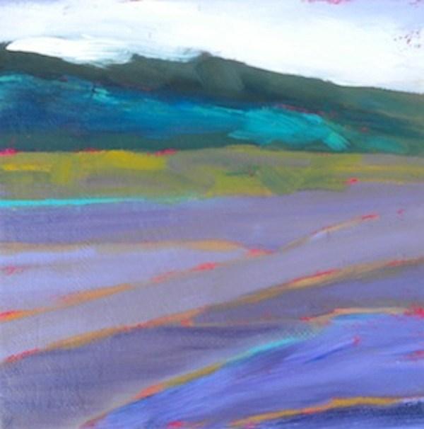 """Provence Lavender"" original fine art by Janet Bludau"