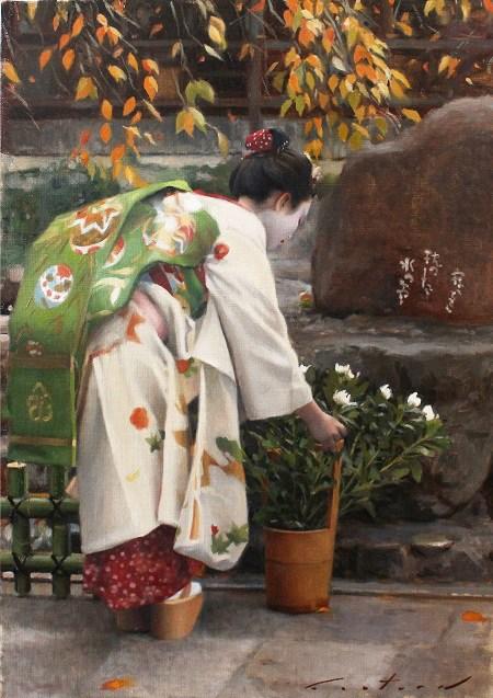 """Kanikakuni"" original fine art by Phil Couture"
