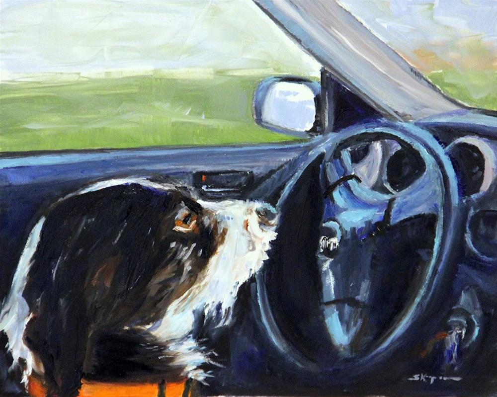 """Motoring"" original fine art by Shelley Koopmann"