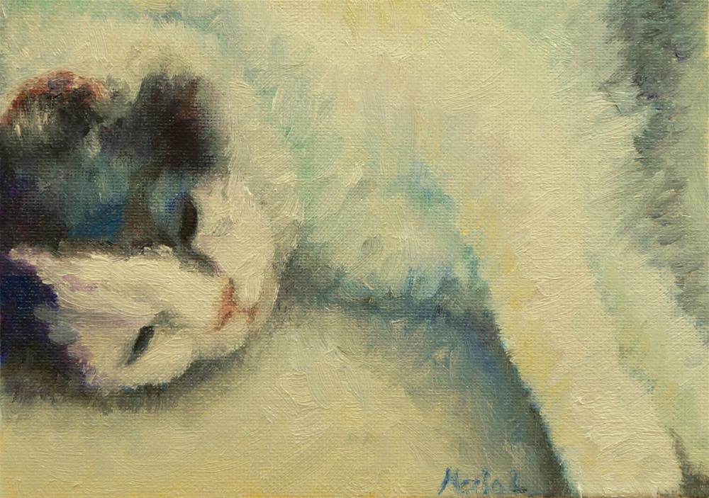 """""""The Caneww"""" original fine art by Maria Levandowski"""