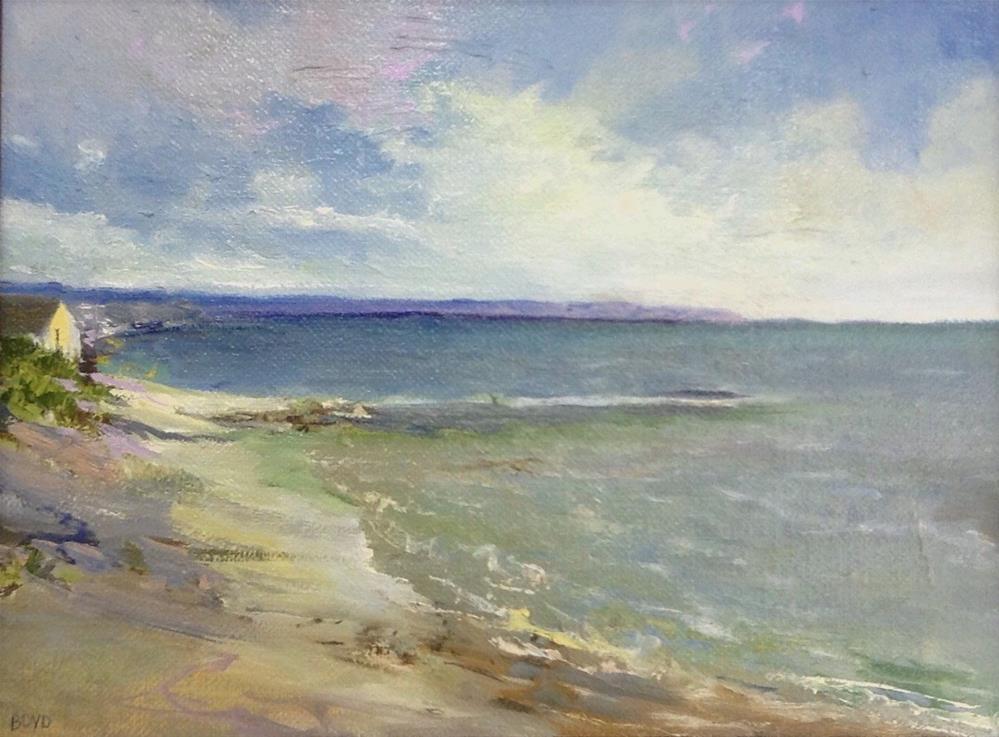 """""""By The Beach"""" original fine art by Cathy Boyd"""