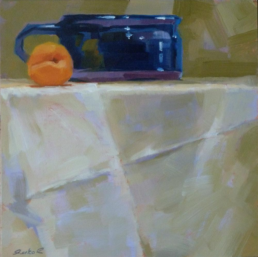 """Apricot & Chili Bowl"" original fine art by Ron Ferkol"