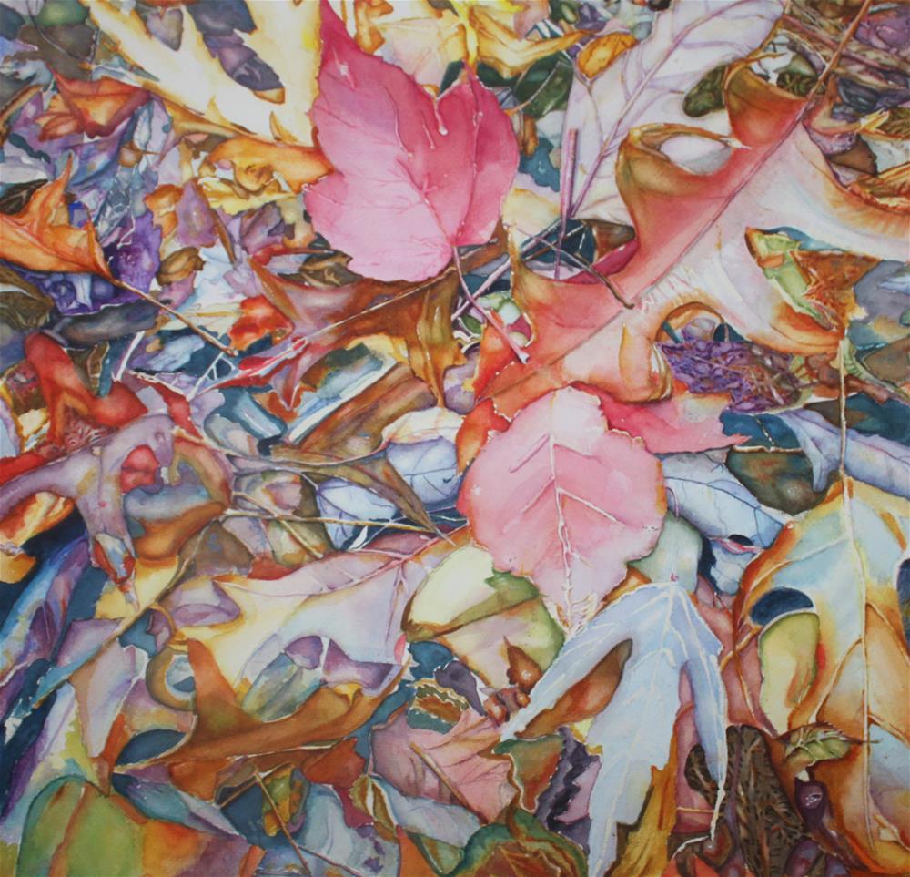 """""""Forest Floor Tapestry"""" original fine art by Christiane Kingsley"""