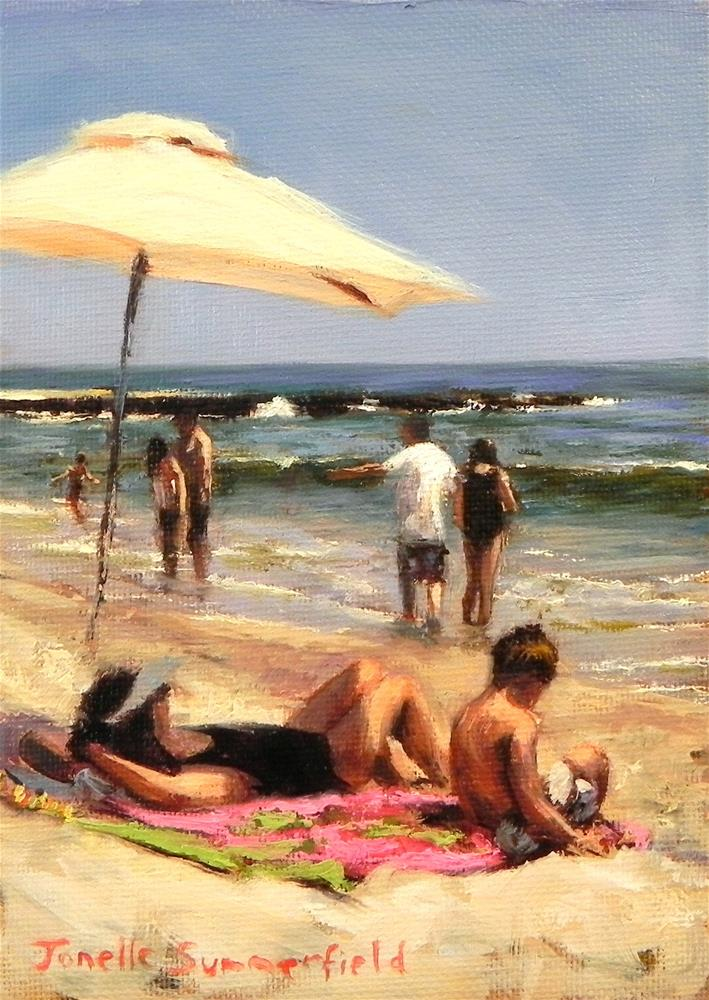 """Time Out"" original fine art by Jonelle Summerfield"