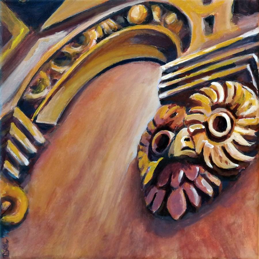 """""""0890 Choir Stalls"""" original fine art by Dietmar Stiller"""