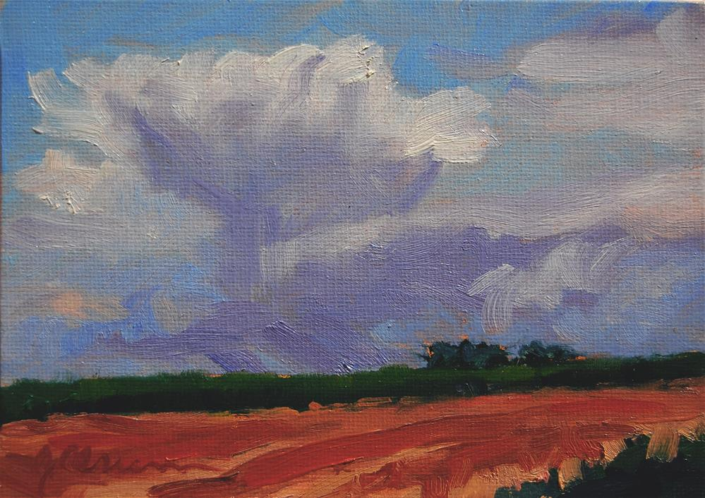 """Border Storm"" original fine art by Gary Alsum"