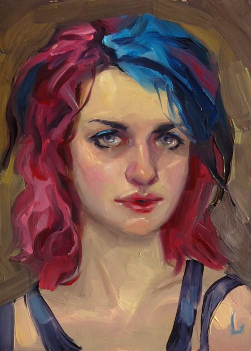 """Berry"" original fine art by John Larriva"