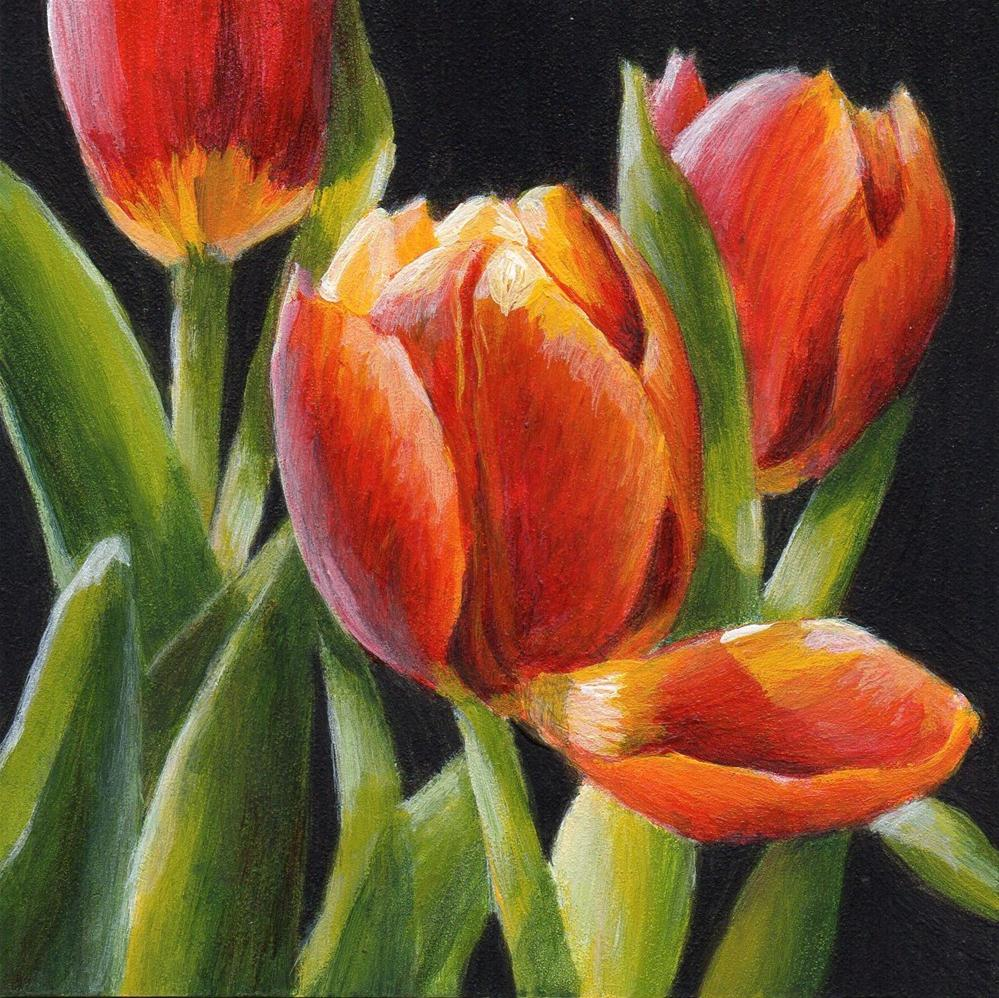"""""""Touched"""" original fine art by Debbie Shirley"""