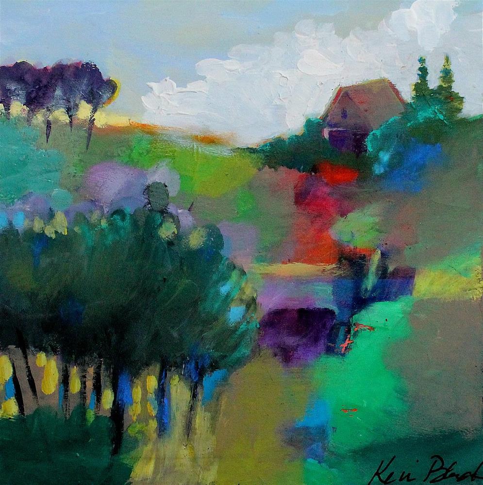 """A Little Spot of My Own"" original fine art by Kerri Blackman"