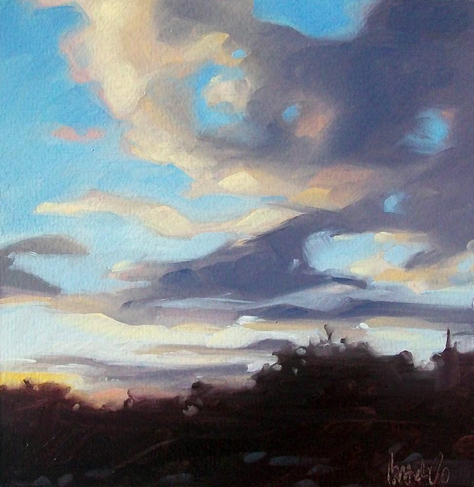 """""""Last bit of sun"""" original fine art by Brandi Bowman"""