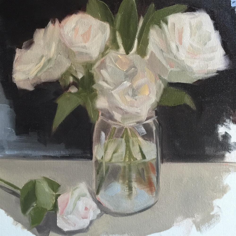 """315 Opening Up"" original fine art by Jenny Doh"