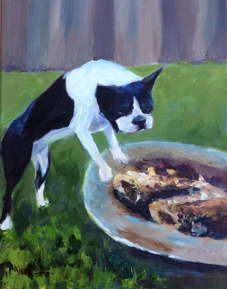 """Hide and seek"" original fine art by Jenny Kinberg"