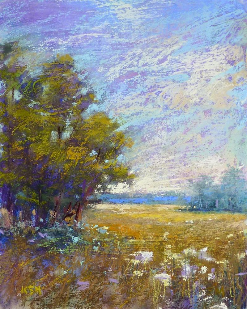"""The Pastel Support I Love to Hate"" original fine art by Karen Margulis"