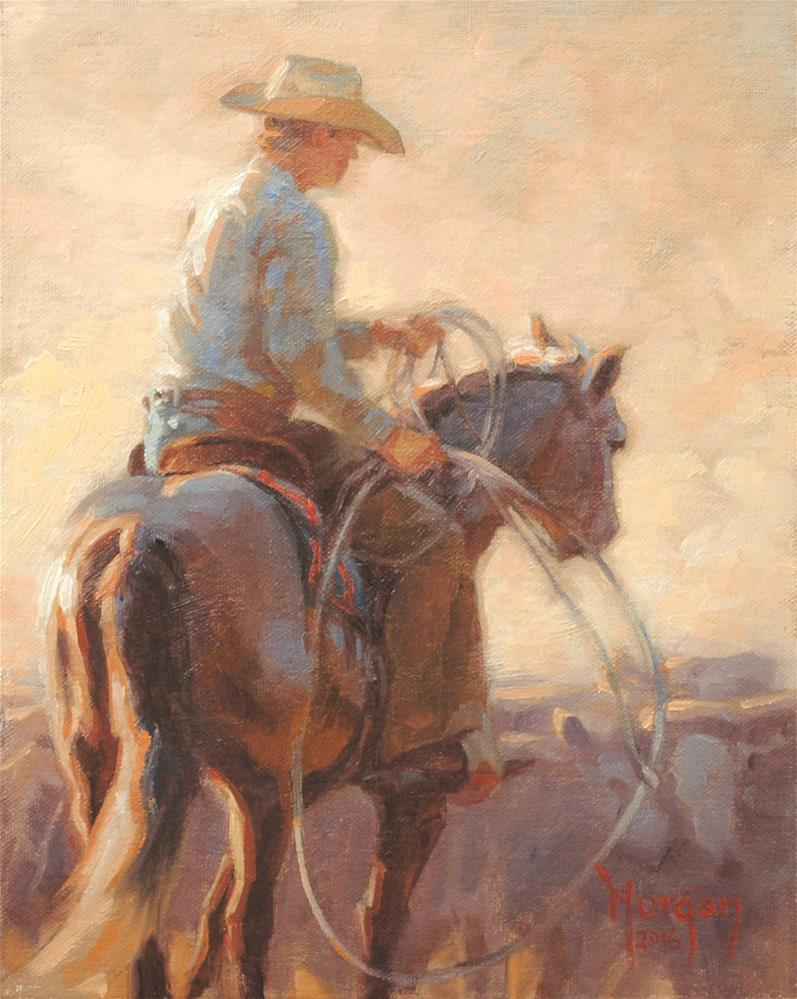 """Nice and Easy"" original fine art by Cecile W. Morgan"
