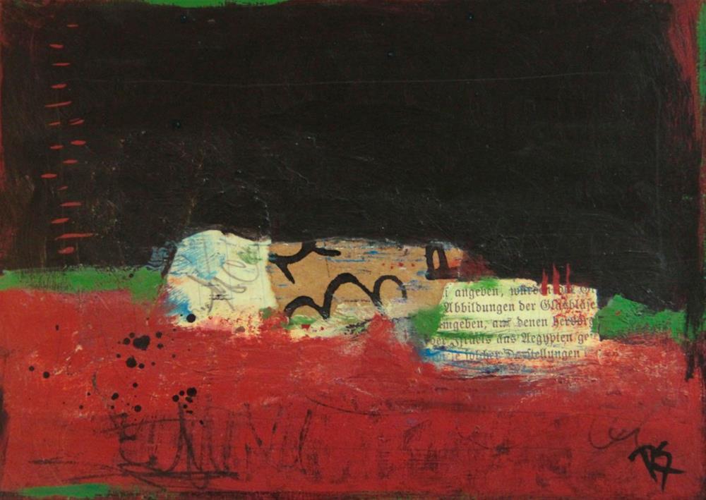 """""""The Earth Below"""" original fine art by Roberta Schmidt"""