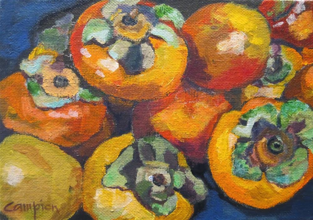"""227 Fruit of the Gods"" original fine art by Diane Campion"