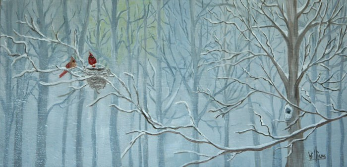 """""""Out on a Limb"""" original fine art by Sunny Williams"""