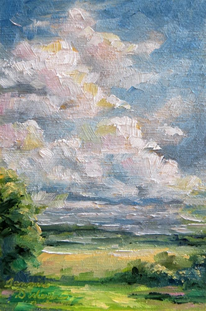 """Cloud Dance"" original fine art by Tammie Dickerson"