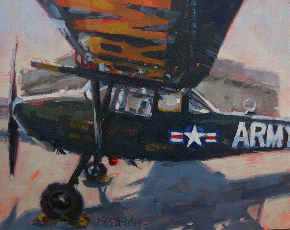 """""""Under The Wing"""" original fine art by Karen Werner"""