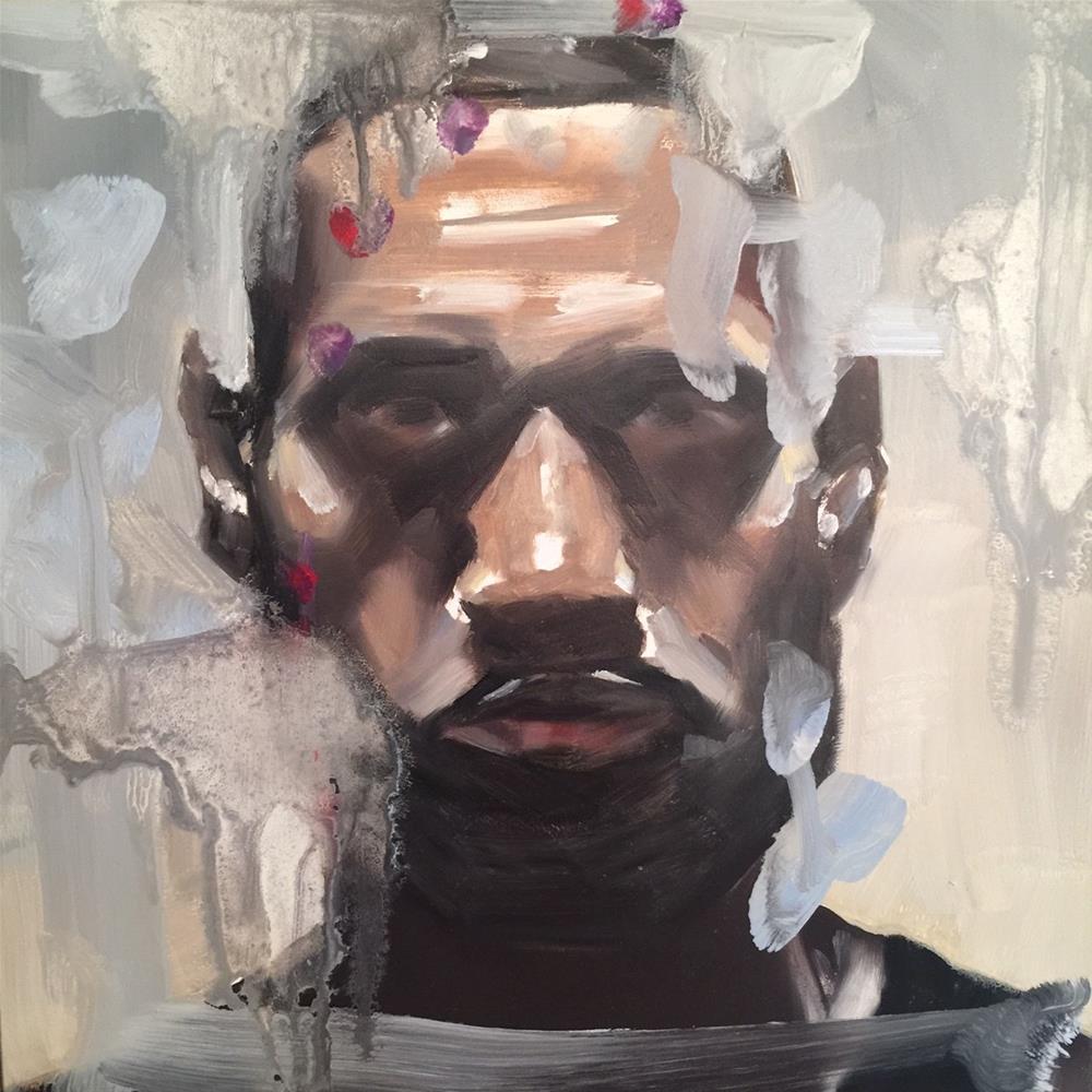 """""""583 King James"""" original fine art by Jenny Doh"""