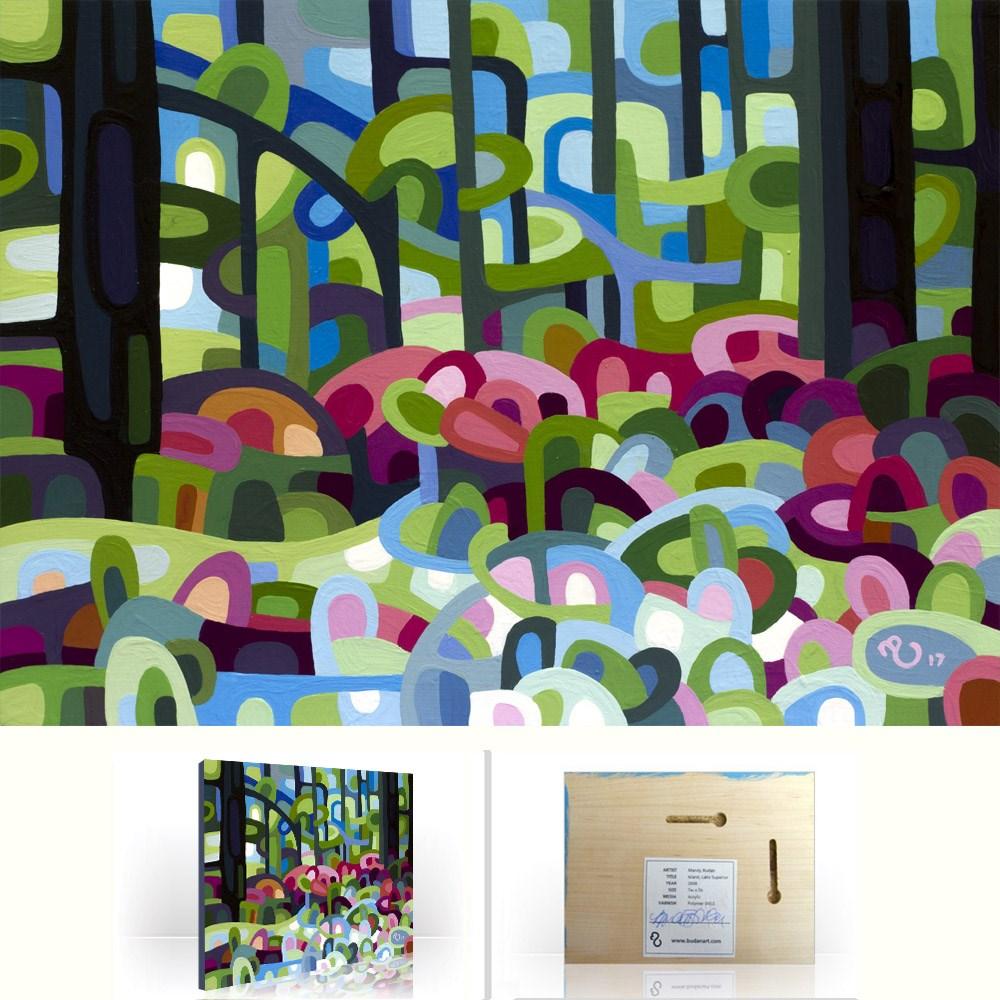 """Landscape Study #109"" original fine art by Mandy Budan"