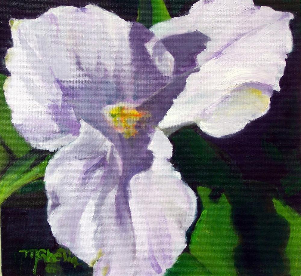 """""""Spring Trillium"""" original fine art by Maureen Ghetia"""