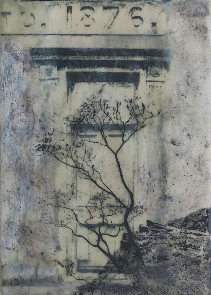 """""""Mysterious Door"""" original fine art by Heather Douglas"""