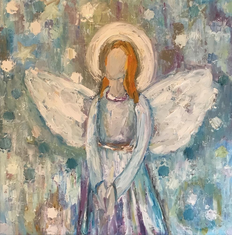 """""""2 Thessalonians 3:5"""" original fine art by Claudia Finn"""