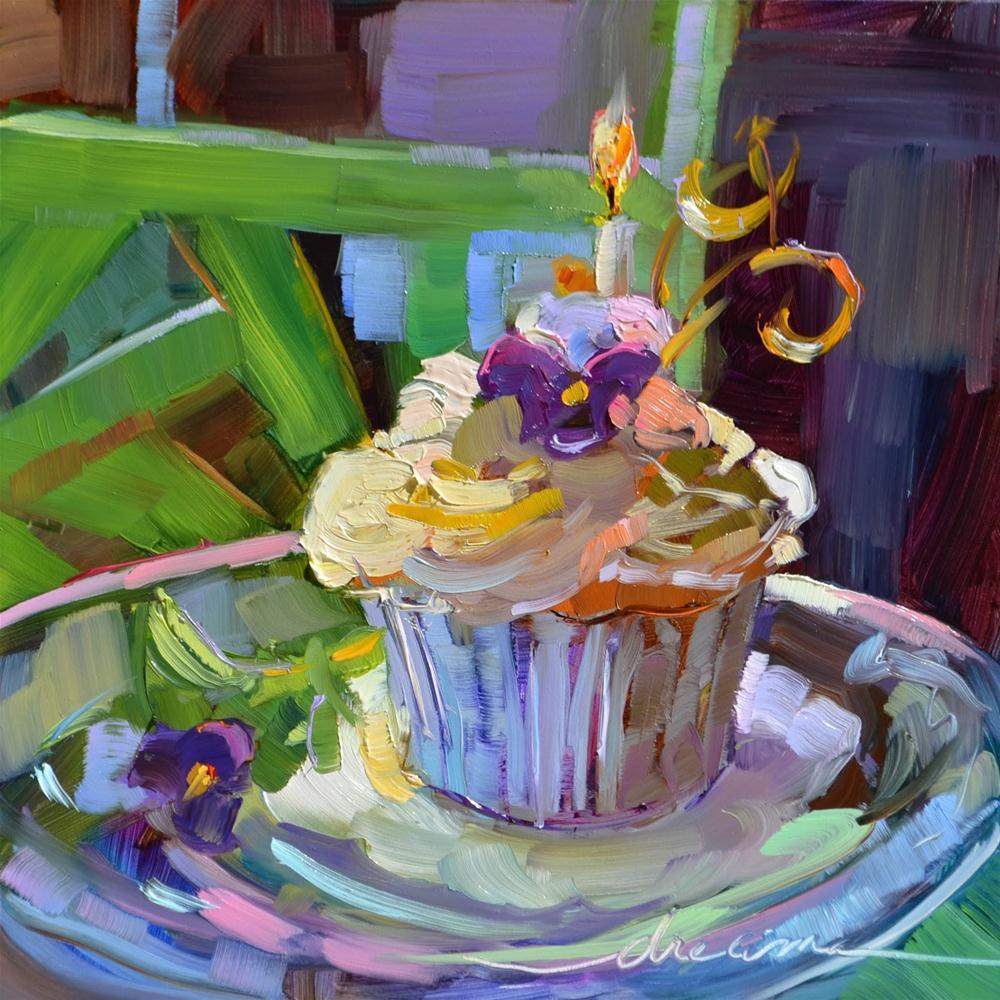 """Celebrate You!!"" original fine art by Dreama Tolle Perry"
