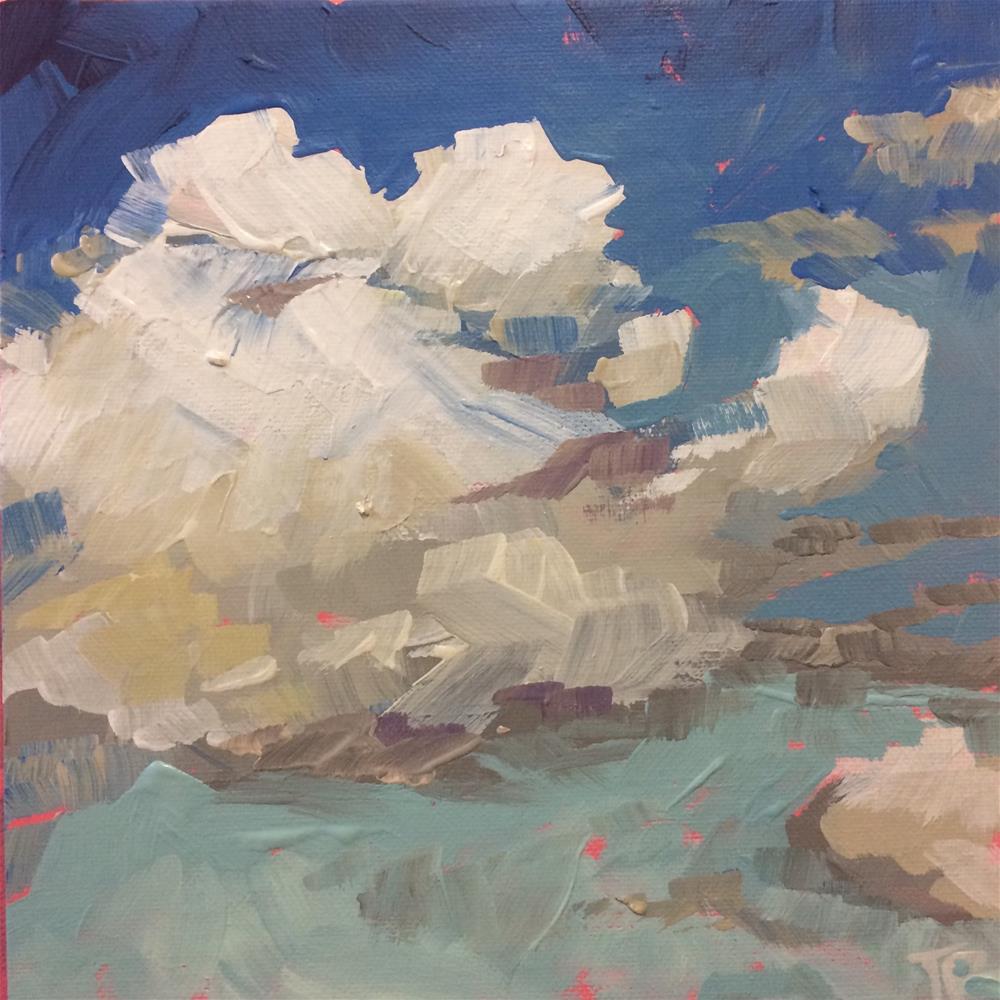 """God's Canvas"" original fine art by Teddi Parker"