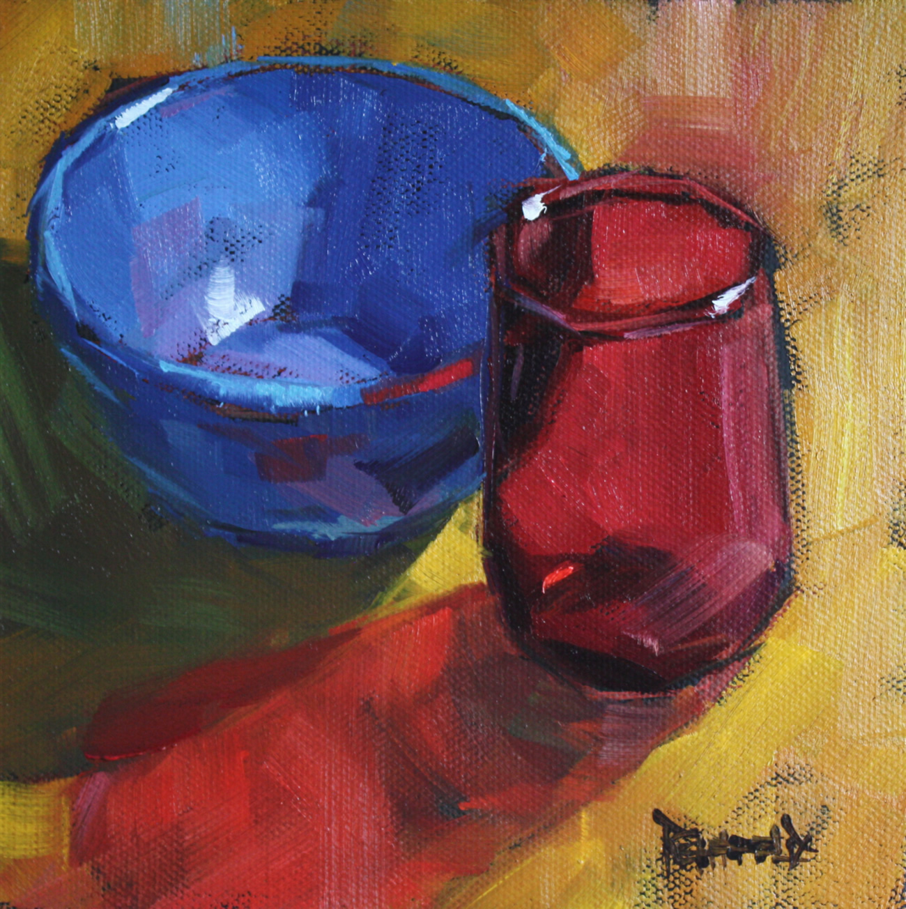 """""""The Color of Shadows"""" original fine art by Cathleen Rehfeld"""