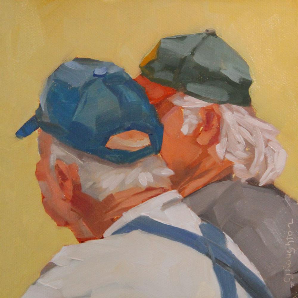 """Bear In Mind"" original fine art by C J Roughton"
