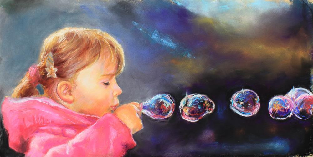 """""""Bubbles"""" original fine art by Marco Vazquez"""