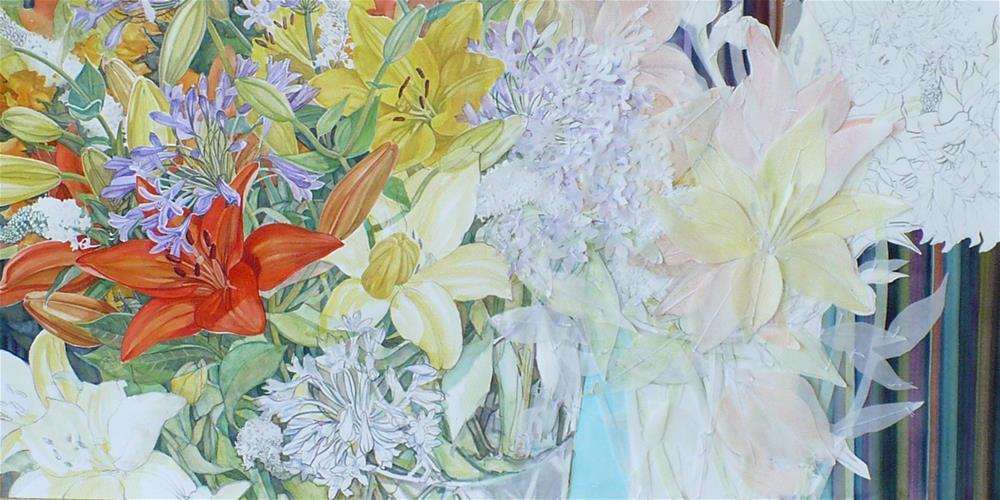 """""""Portfolio 5:  Realism is a Construction"""" original fine art by Nicoletta Baumeister"""
