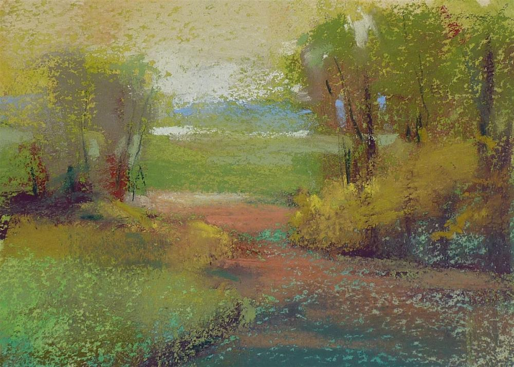 """10 Minutes to More Painterly Paintings"" original fine art by Karen Margulis"