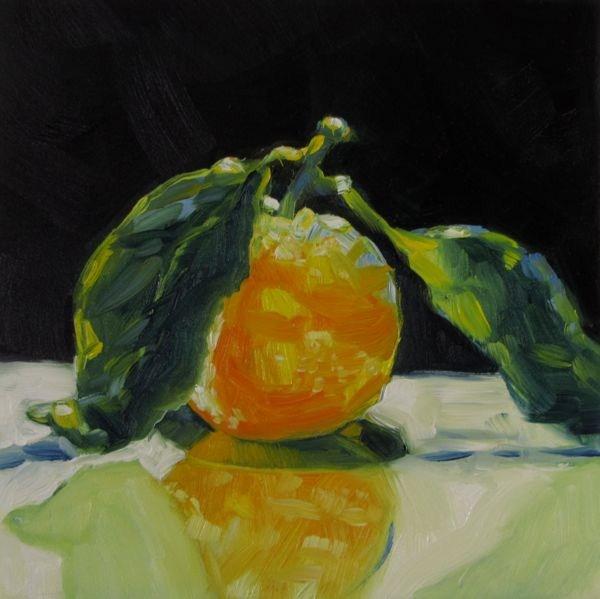 """Tangerine Dream"" original fine art by Mb Warner"