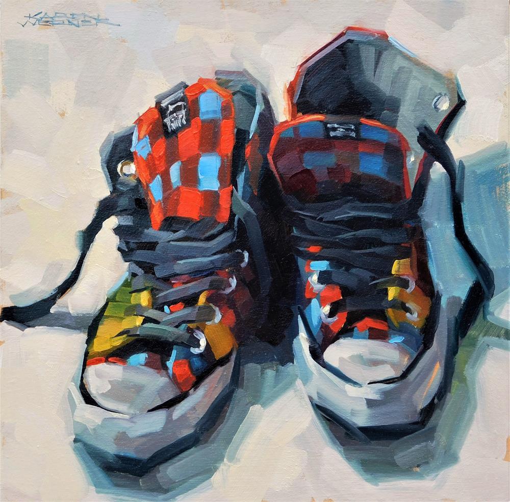 """""""Stylin'"""" original fine art by Karen Werner"""