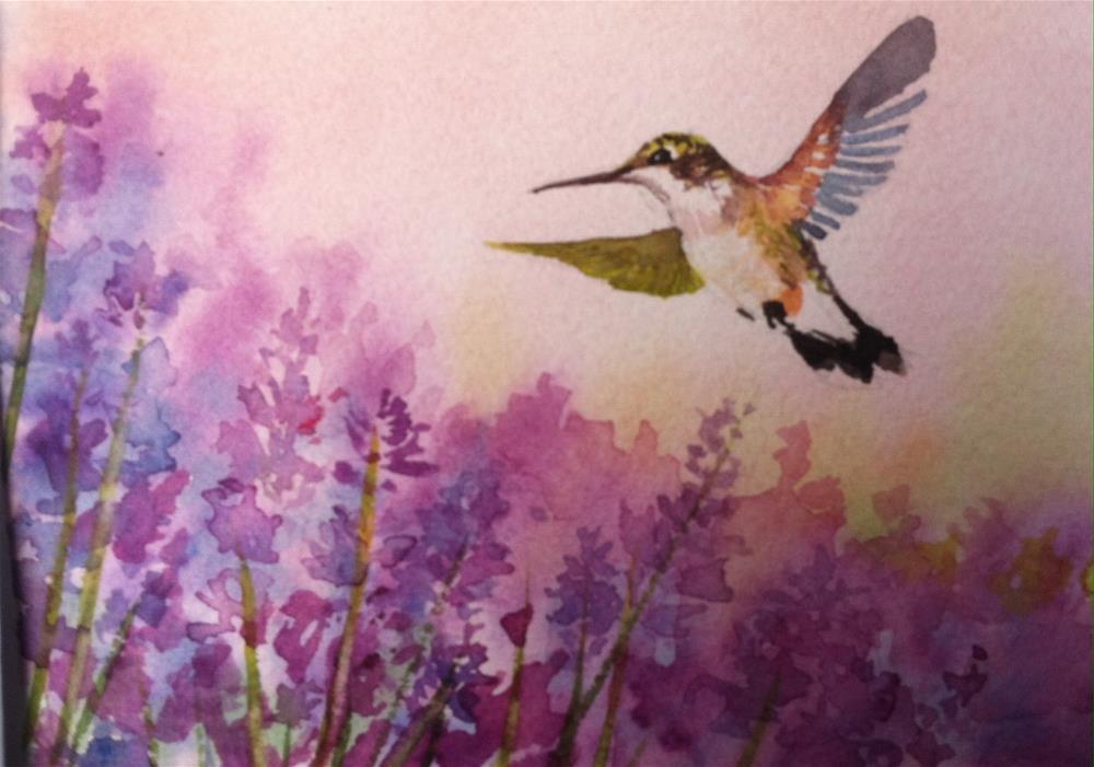 """""""Majestic flight"""" original fine art by Kathryn Kittell"""