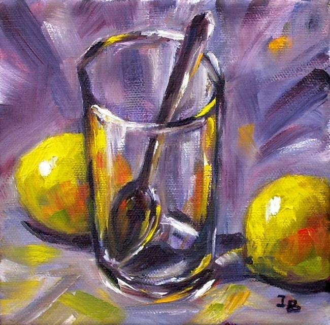 """A Lemon and a Half"" original fine art by Irina Beskina"