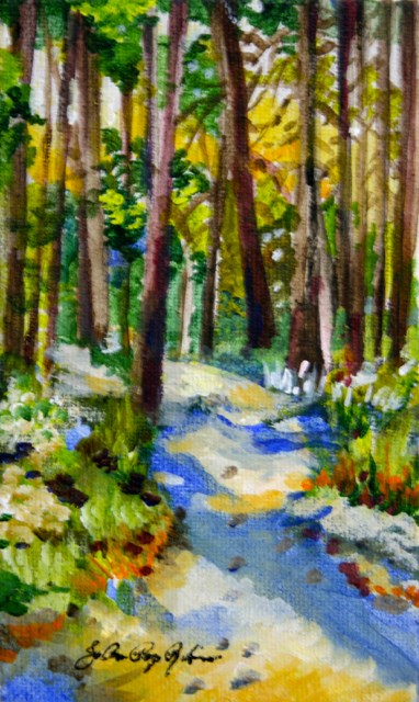 """A Beautiful Morning"" original fine art by JoAnne Perez Robinson"