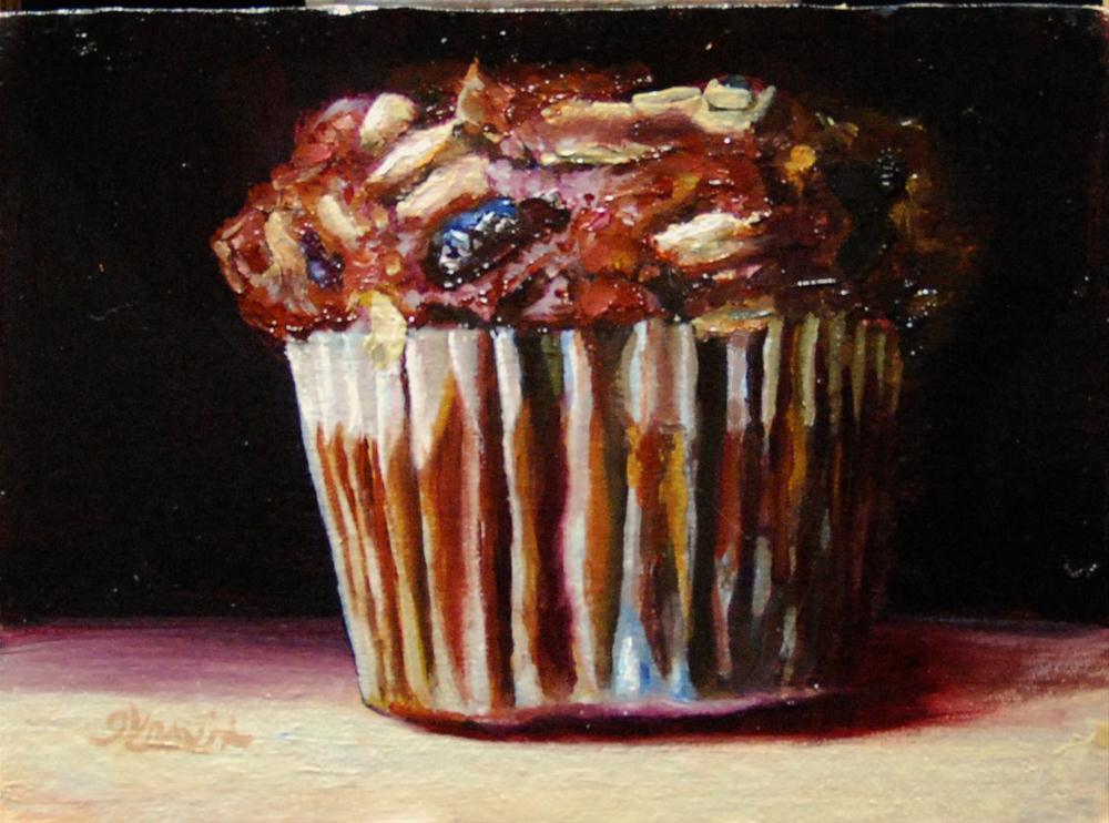 """""""Bran Muffin"""" original fine art by Garry Kravit"""