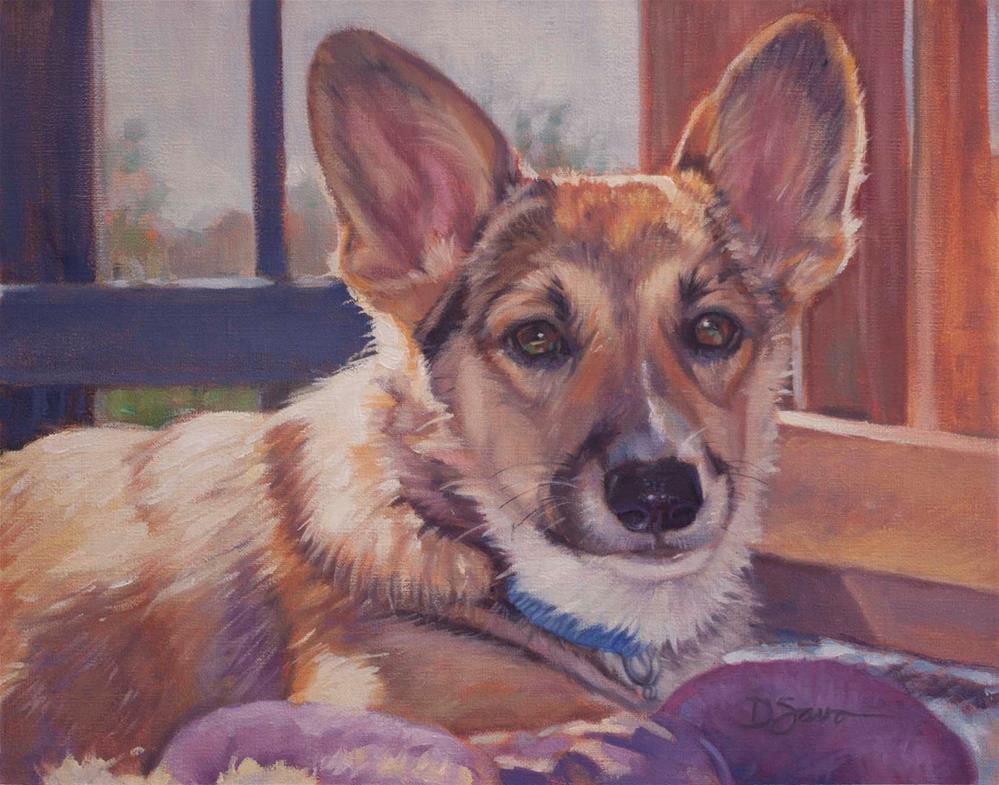 """Mazy"" original fine art by Deborah Savo"