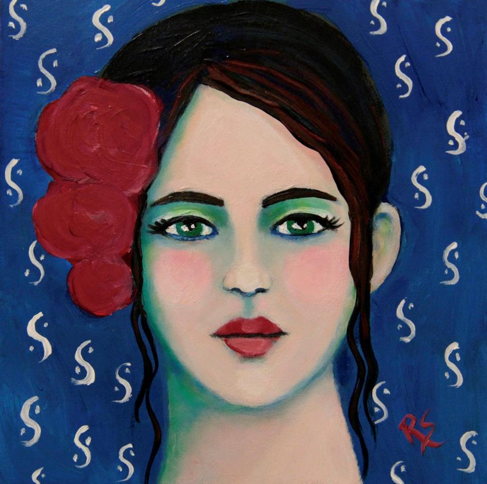 """Serafina"" original fine art by Roberta Schmidt"