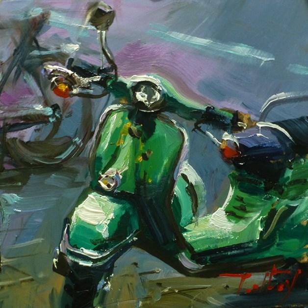 """""""Roller"""" original fine art by Jurij Frey"""