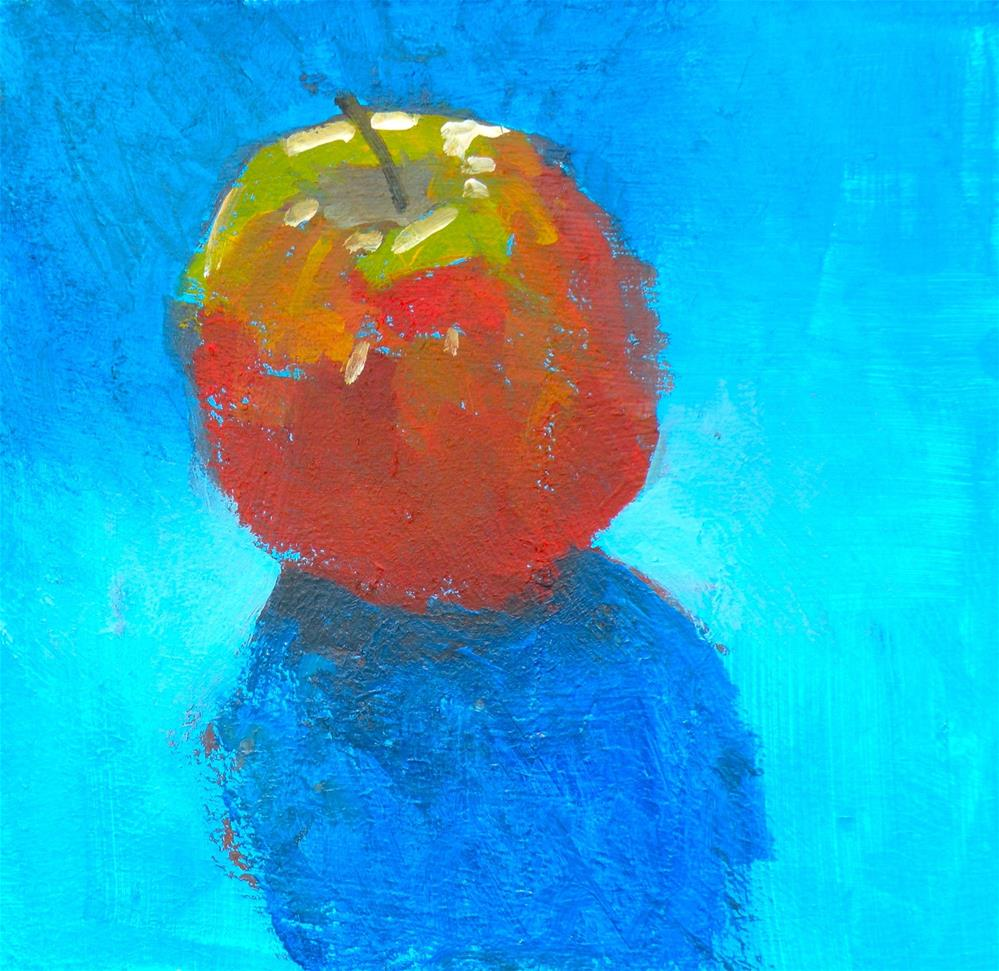 """Apple 3"" original fine art by Toni Goffe"