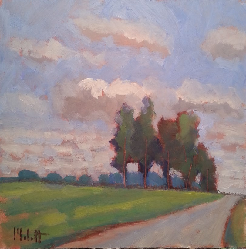 """Summer Drive"" original fine art by Heidi Malott"