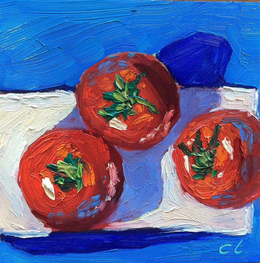"""I see you three"" original fine art by Cheree Apalona Lueck"