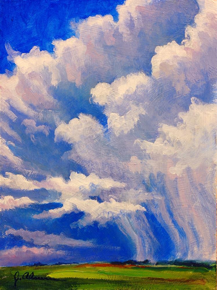 """Storm Over Erie"" original fine art by Gary Alsum"