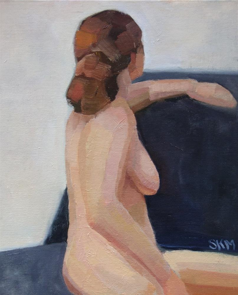 """One hour nude, London"" original fine art by Sarah Meredith"